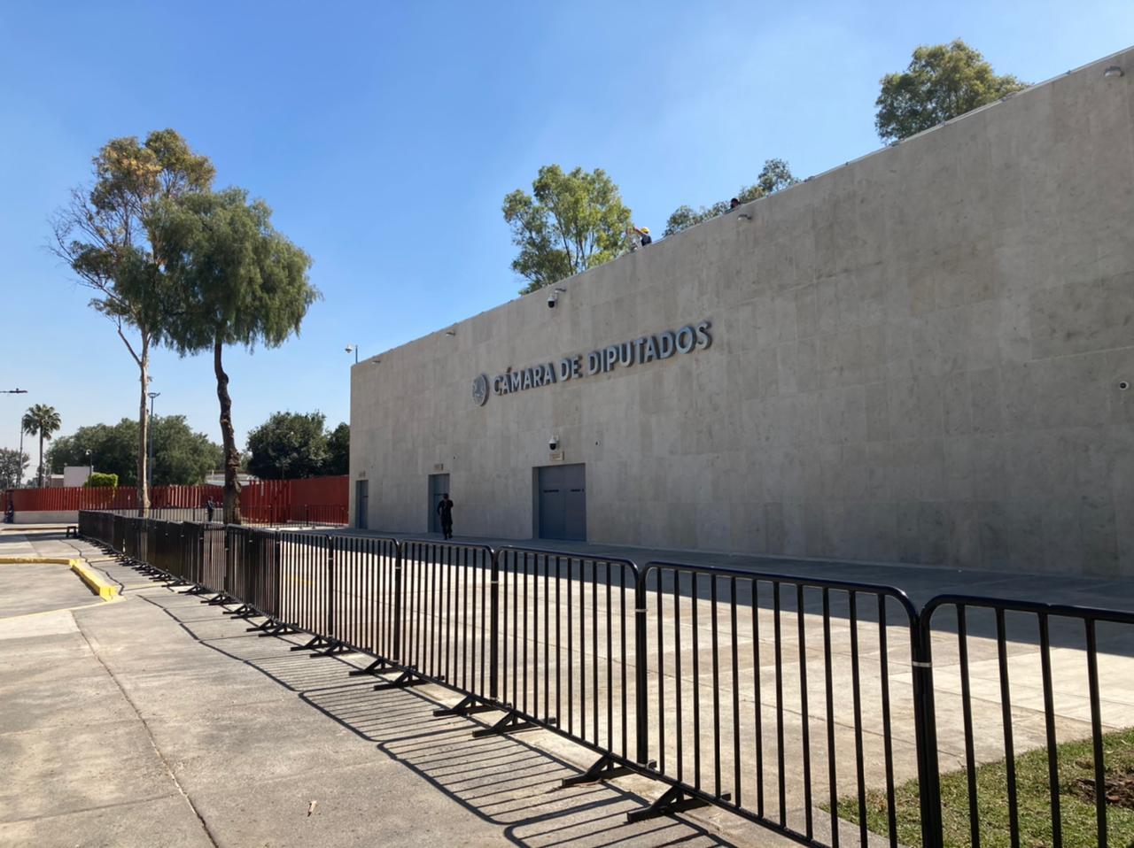 Cámara de Diputados estrena acceso de casi 30 millones de pesos