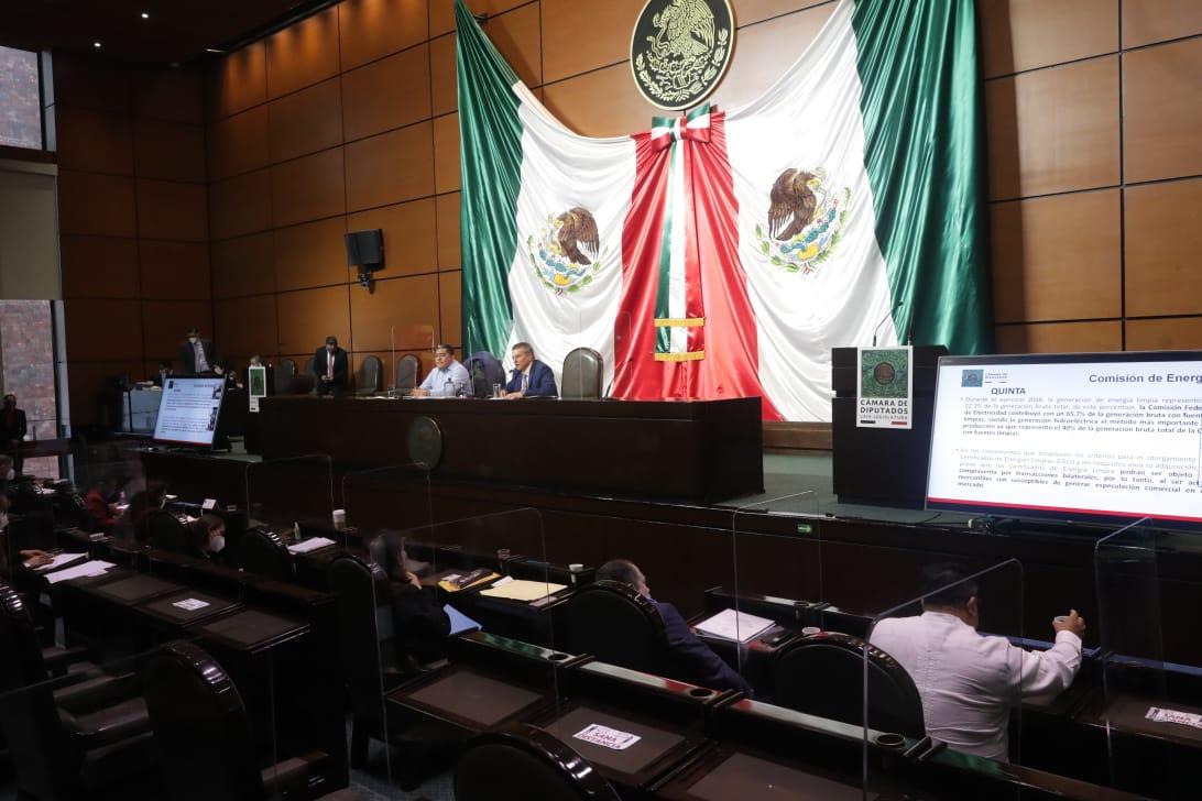 Comisión de Energía de Cámara de Diputados avala iniciativa de AMLO sobre electricidad