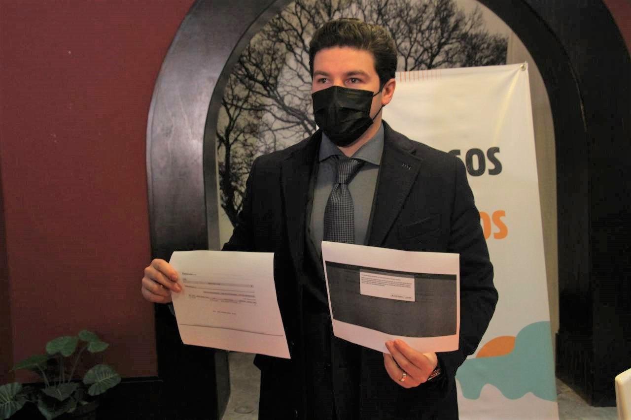 Samuel García se registra como candidato a la gubernatura de NL