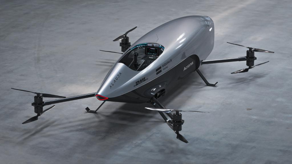 auto volador Airspeeder