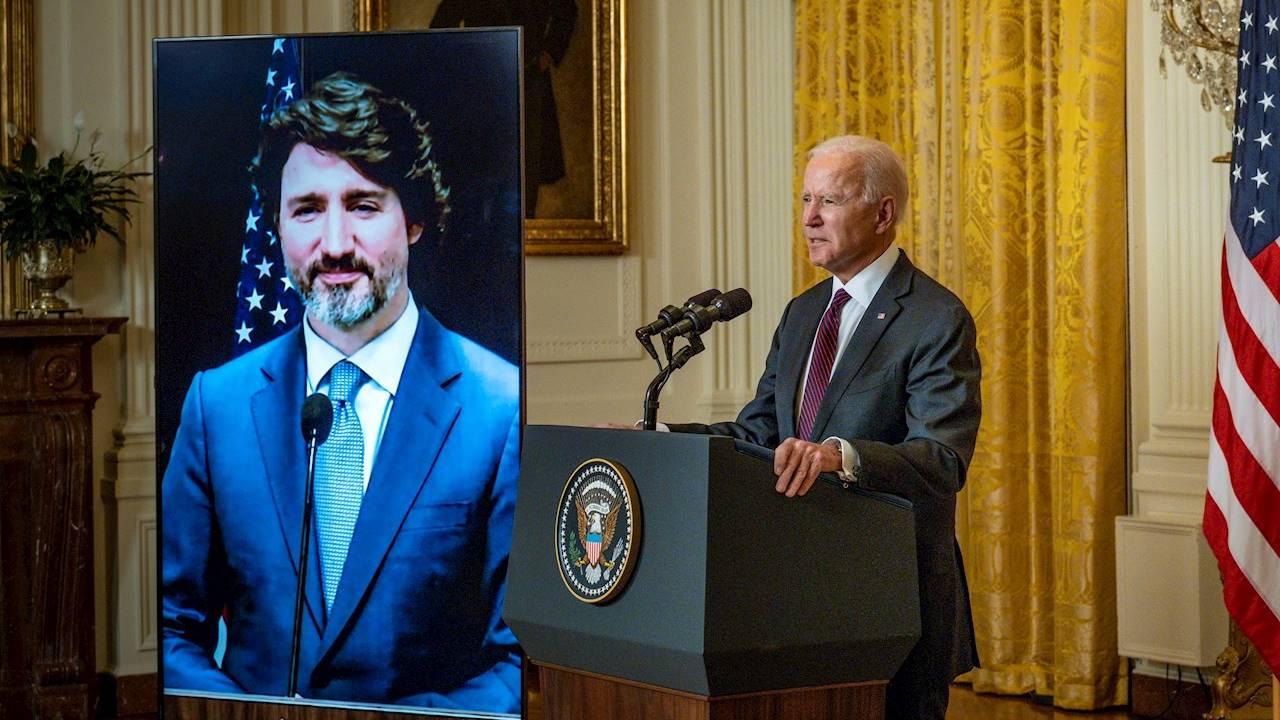 Estados Unidos no tiene amigo más cercano que Canadá: Biden a Trudeau
