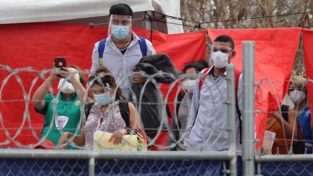 Avalancha de registros de migrantes devueltos por Trump