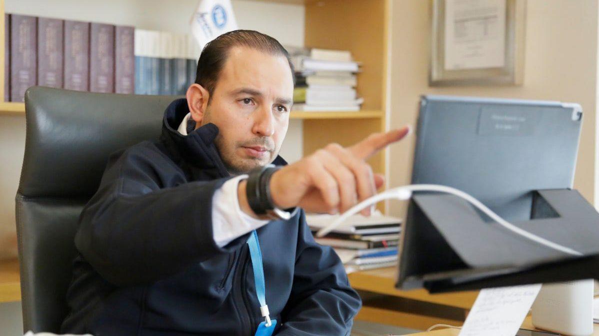 En el PAN nadie viene a triunfar: Marko Cortés a expanistas