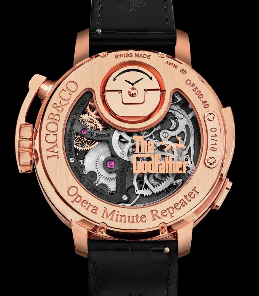 reloj Jacob Co El Padrino Alta relojería