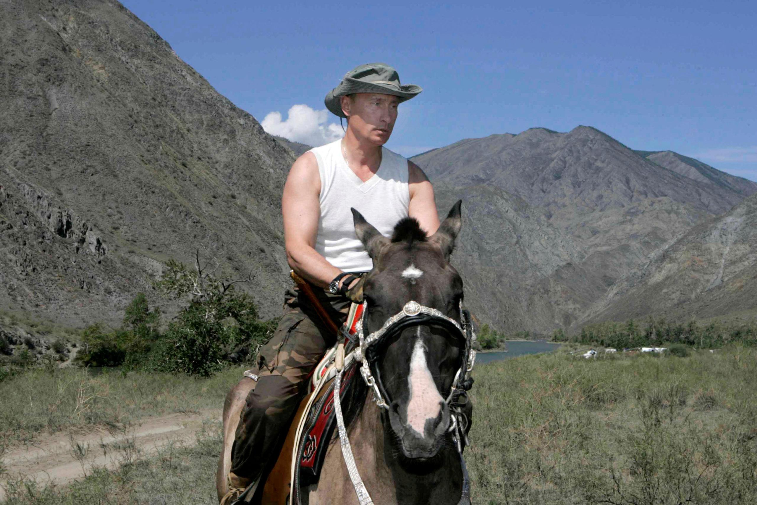 El caballo que venció a Vladimir Putin