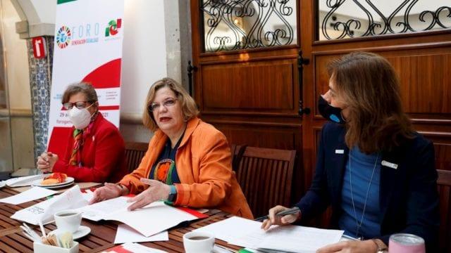 Presentación del Foro Generación Igualdad / Foto: EFE