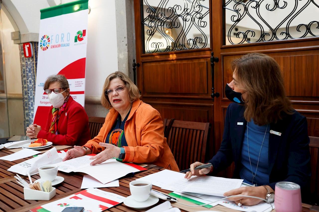 AMLO, Macron y Guterres inaugurarán foro sobre igualdad de género