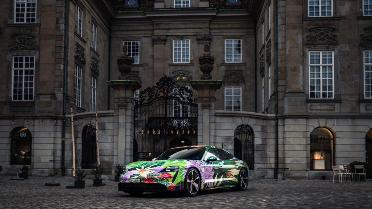 Auto artístico de Porsche