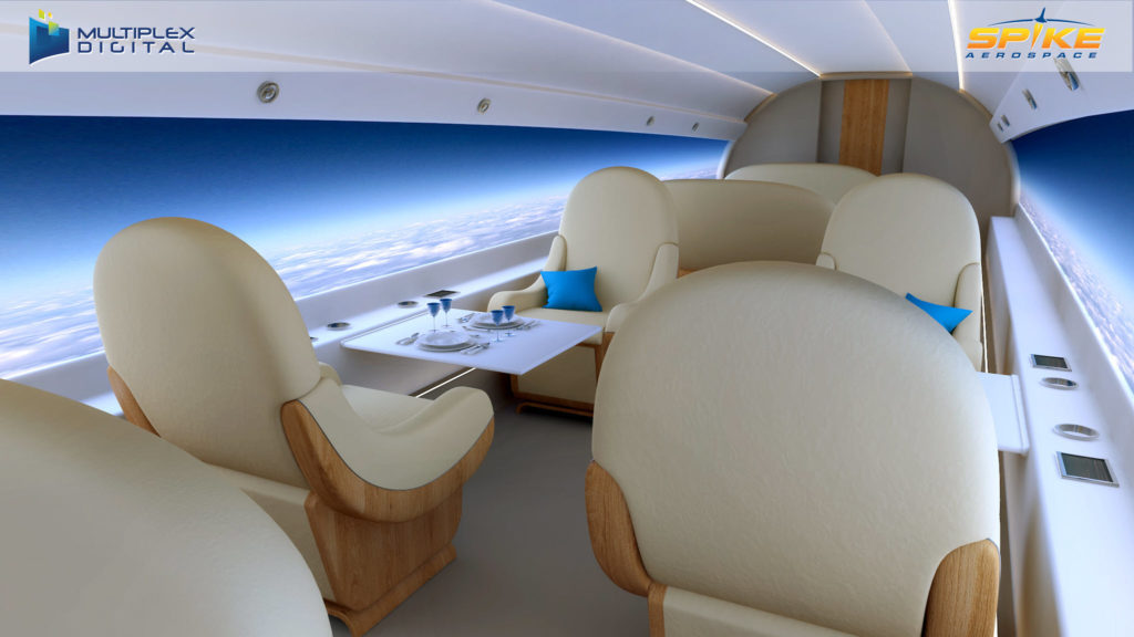 avión supersónico aeronave
