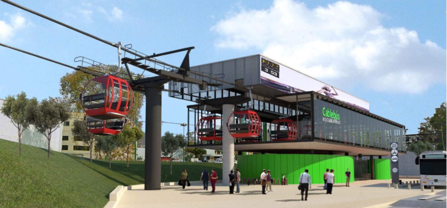 CDMX inaugura teleférico para mejorar la movilidad en zonas altas