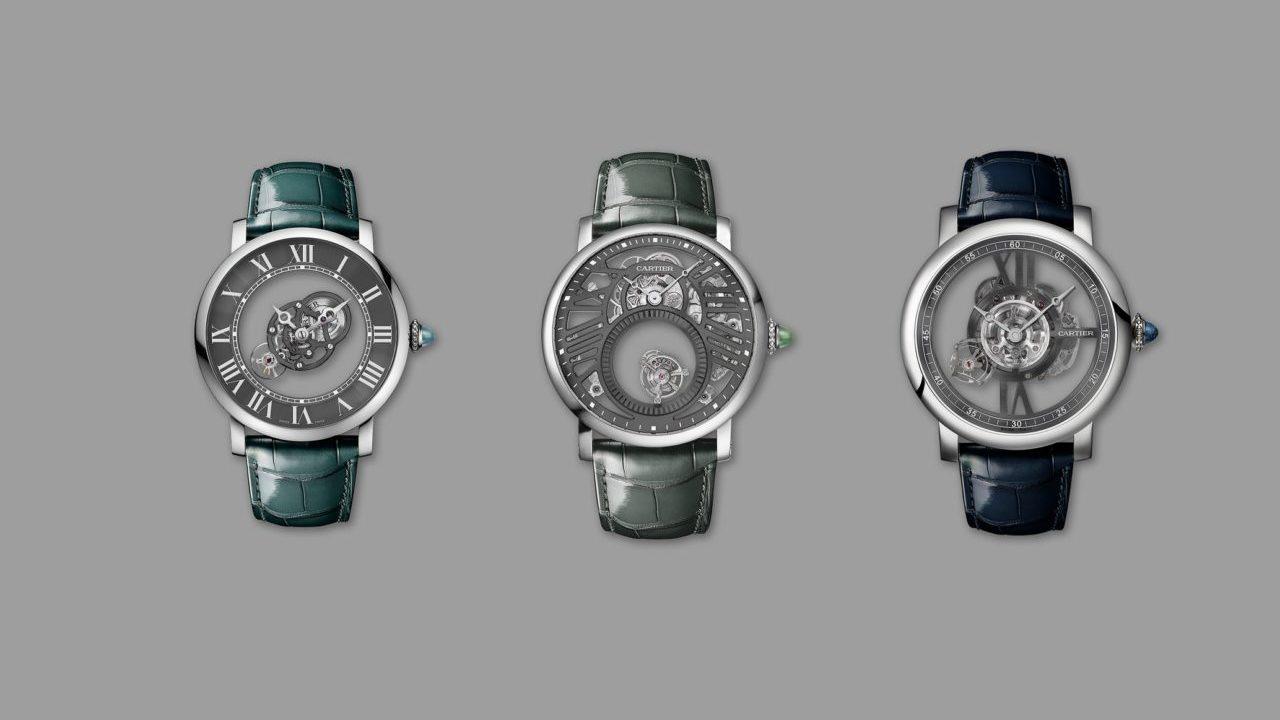 Cartier y los tres tesoros que incorporan el tourbillon
