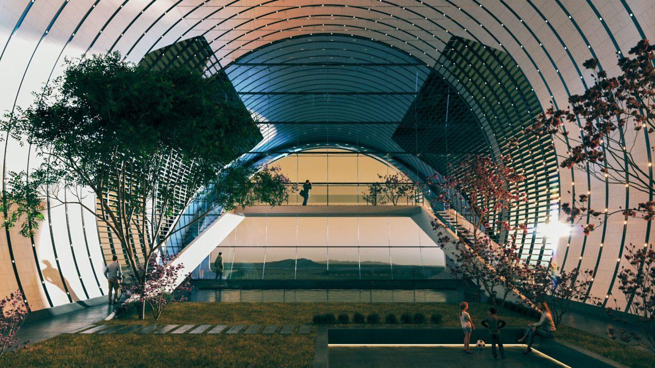 Nüwa: Así sería futura ciudad en Marte