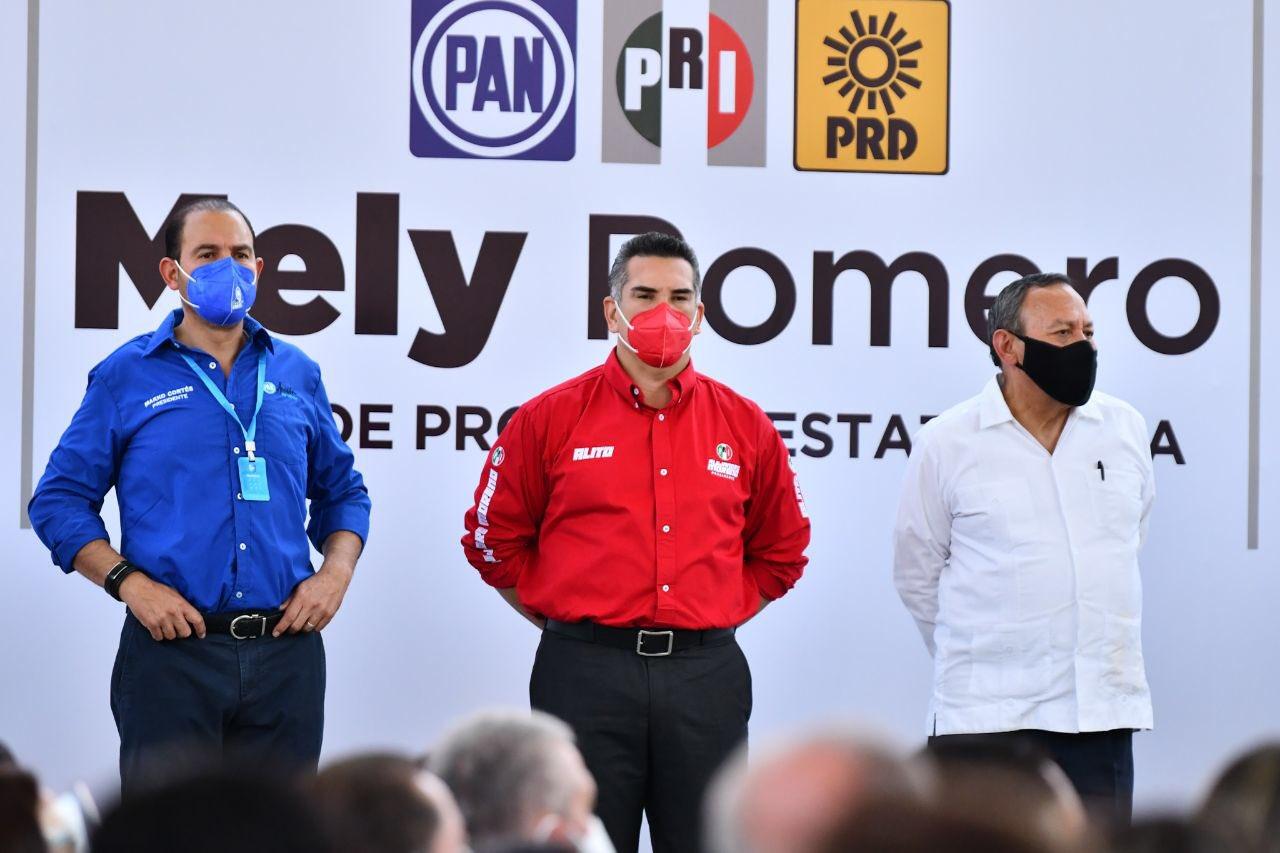 PRI lleva la mano para elegir aspirantes a gubernaturas de Va por México