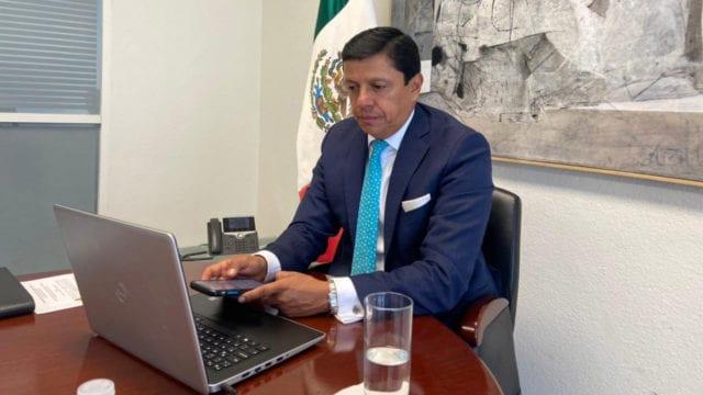 Fabián Medina, Jefe de oficina de Marcelo Ebrard renuncia ante situación actual en la Cancillería