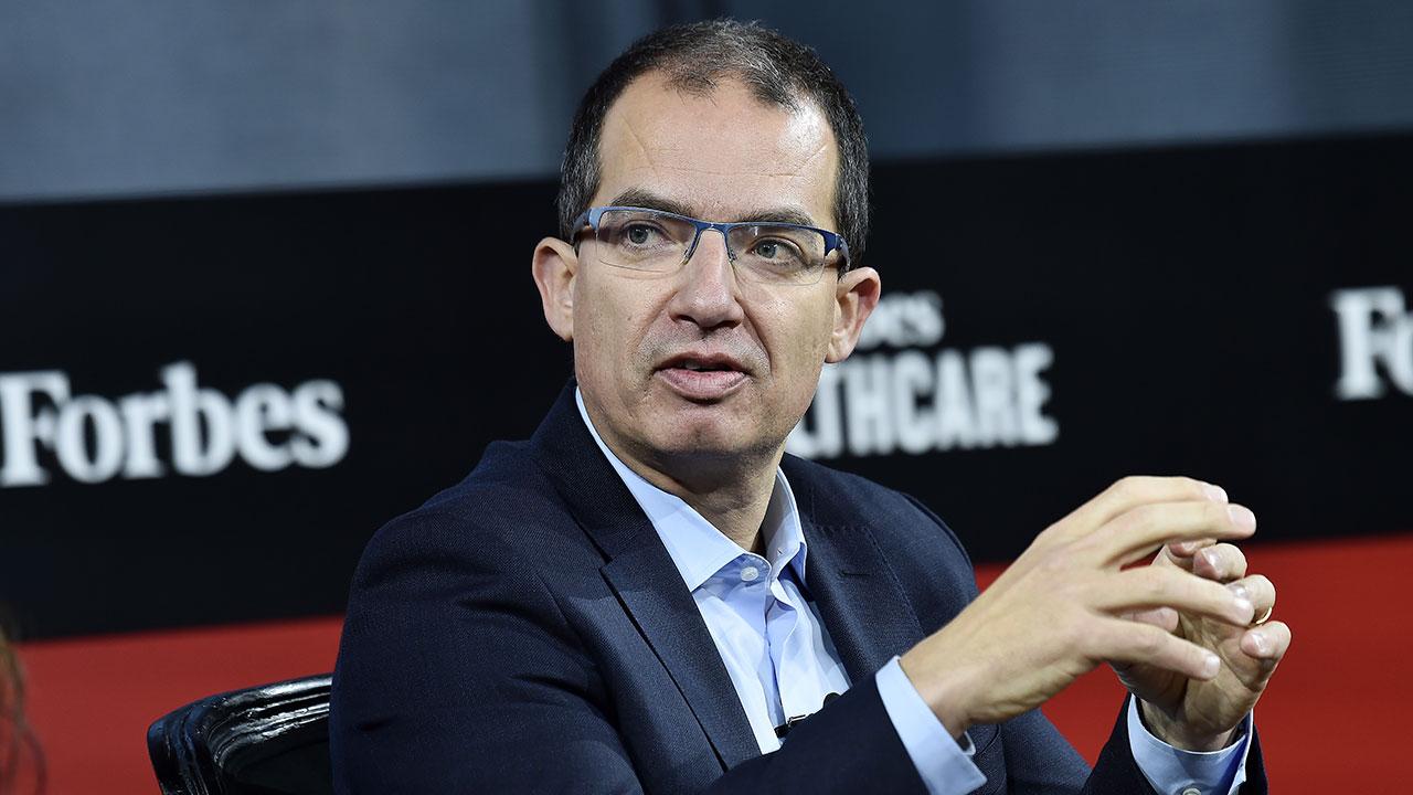 Moderna CEO, Stephane Bancel