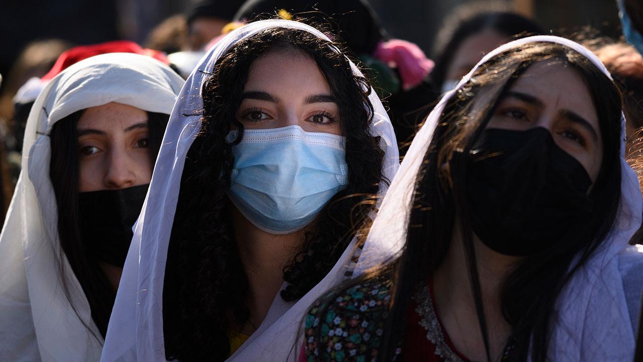 Fotogalería: #8M Mujeres en lucha en el mundo pese a la pandemia