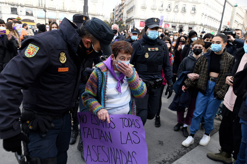 MUJERES International Women's Day In Madrid