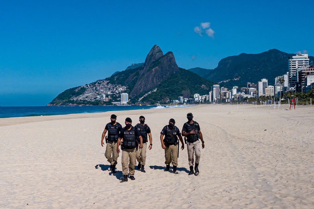 Brasil Covid-19 Authorities Tighten Restrictions in Some Beaches of Rio de Janeiro State
