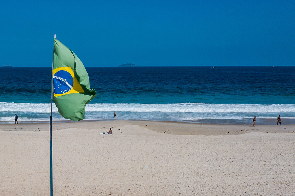 Brasil Covid-19 First Day of the Partial Lockdown of the City of Rio de Janeiro as the Numbers in the Coronavirus