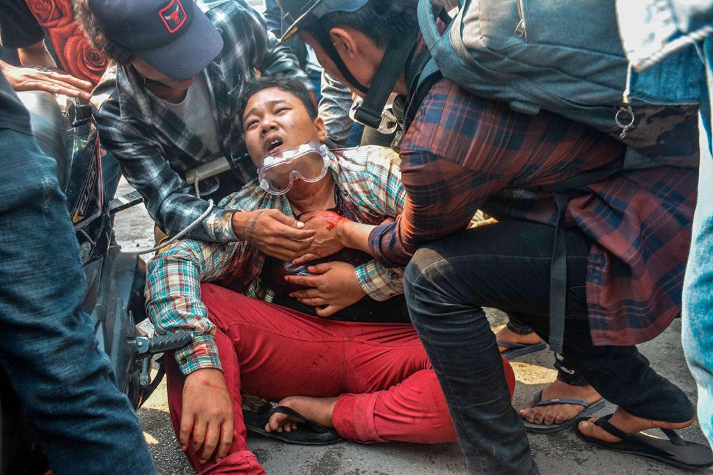 Birmania Anti-coup protests continue in Myanmar