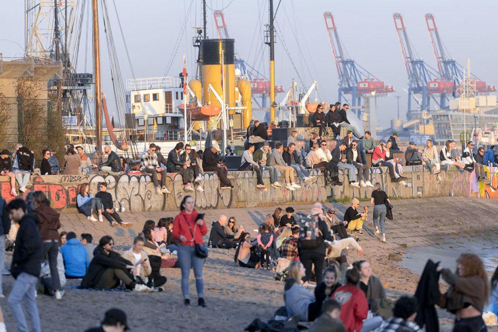Alemania Covid-19 Spring in Hamburg