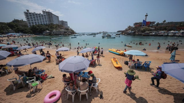 México covid-19 Turismo Acapulco Continues Vaccination Plan For Senior Citizens