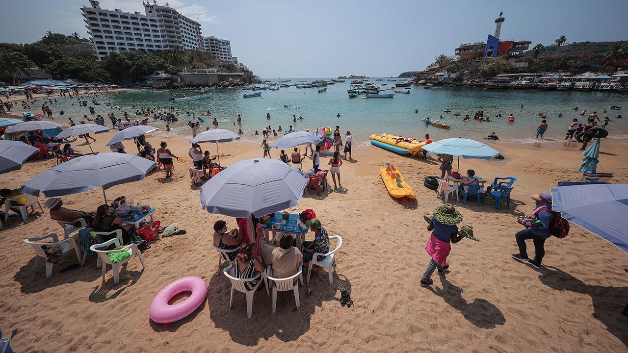 Turismo internacional en México repunta un 143.7% interanual en julio
