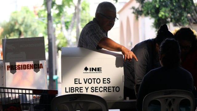Elecciones en México voto INE