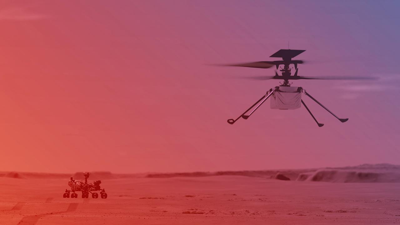 Helicóptero Ingenuity hará su primer vuelo en Marte en abril: NASA