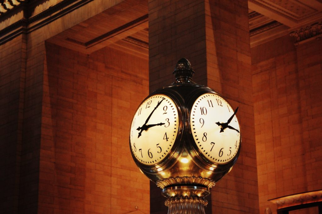 Horario de verano  reloj