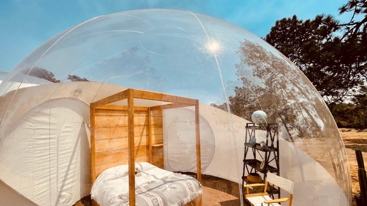 La Ciudad de México ya cuenta con su primer hotel burbuja