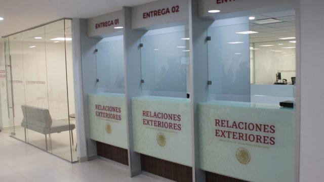 SRE Cancillería pasaportes Coyoacán