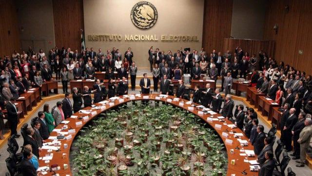 INE Consejo General Votaciones elecciones
