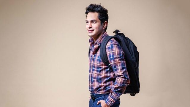 Javier Cardenas, CEO y fundador de la app Rotamundos