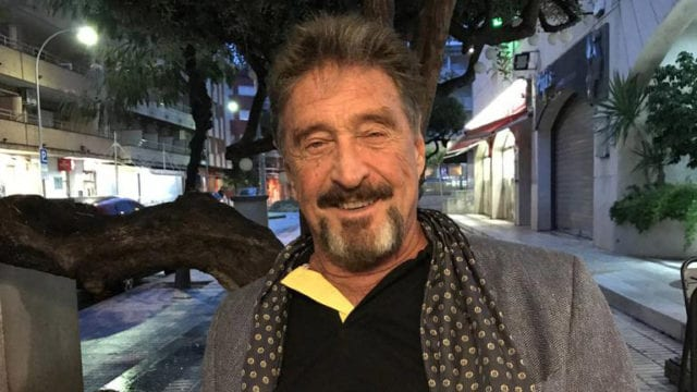 Creador de antivirus McAfee, imputado en EU por fraude con criptomoneda