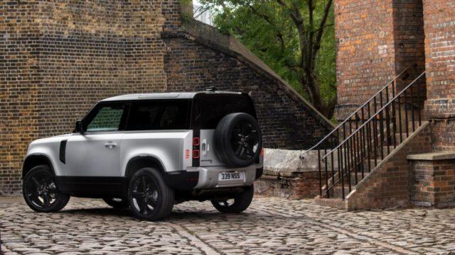 Land Rover Defender vehículo