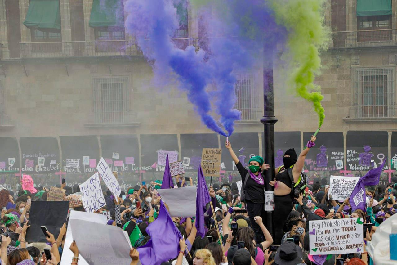 Las mujeres en América se levantan para reclamar sus derechos pese a la Covid-19