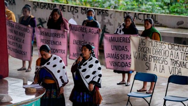 Mujeres indígenas Chiapas