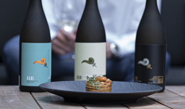 Nami experiences maridaje sake