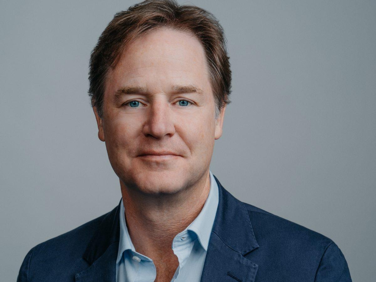 Nicholas Clegg, vicepresidente de Asuntos Públicos de Facebook