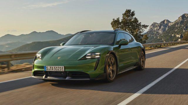 Porsche Taycan autos eléctricos