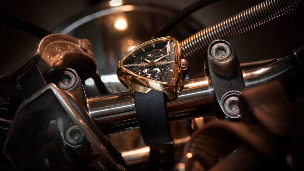 Hamilton revela el reloj futurista que celebra a Elvis Presley