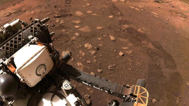 Perseverance en Marte