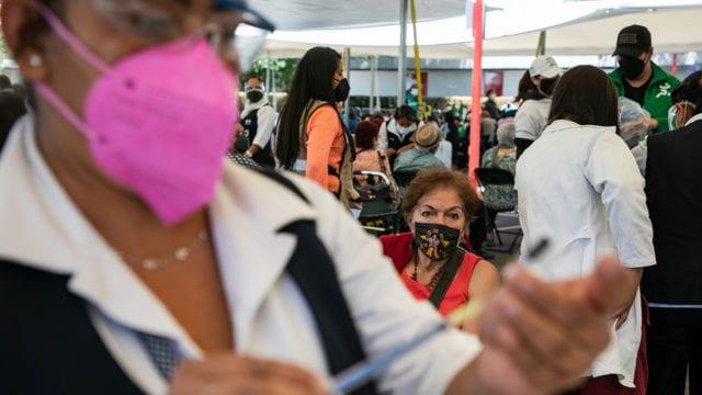 Vacunacion Covid 19 adultos mayores Azcapotzalco