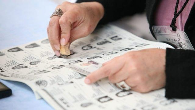 Votaciones elecciones INE