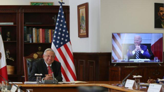 AMLO Biden EU reunión llamada