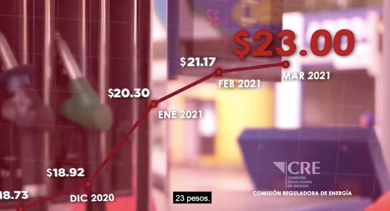 PAN lanza spot contra AMLO y Morena por precio de la gasolina