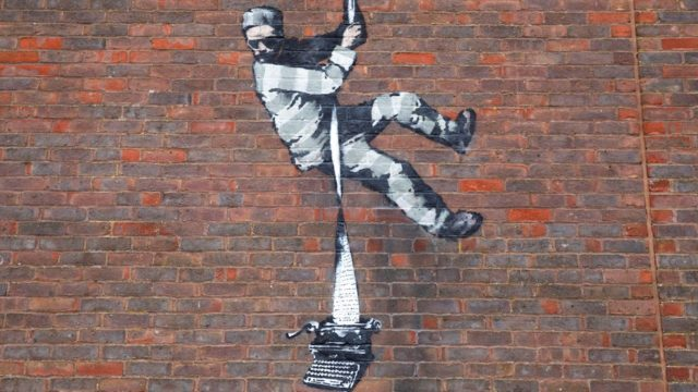 Bansky in Reading