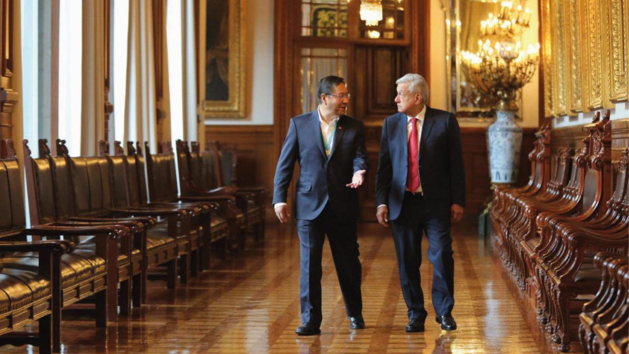 México y Bolivia emiten declaración conjunta tras encuentro presidencial