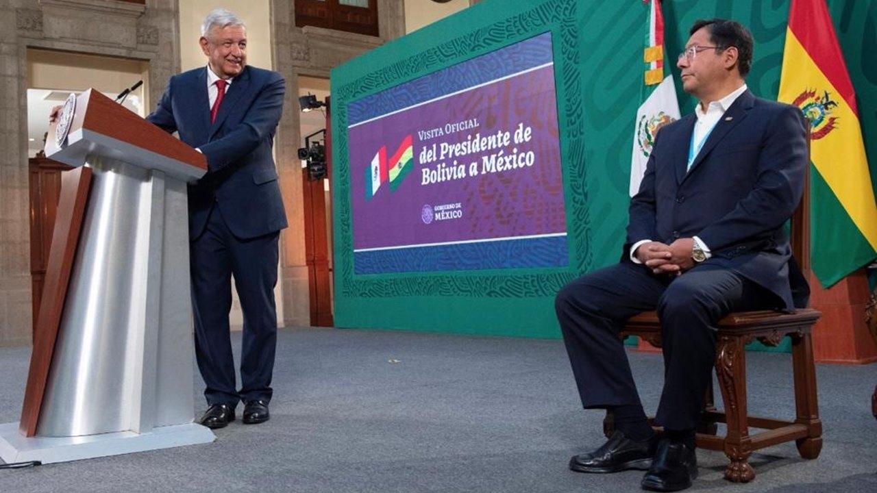 AMLO elogia modelo económico de Bolivia con Evo Morales